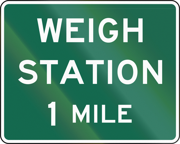 Weigh Station 101