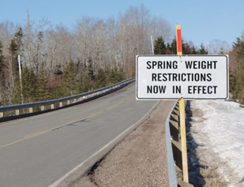 Manitoba Spring Road Restrictions 2019