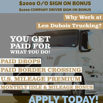 Winnipeg trucking jobs