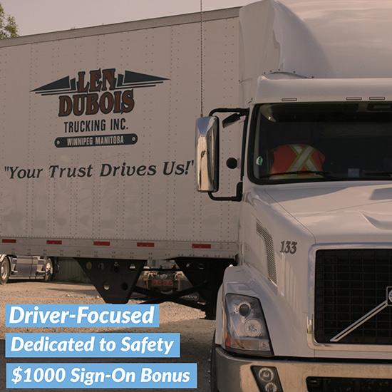 Large Trucking Companies vs Smaller Trucking Companies - Len