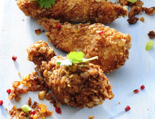 Toaster Oven Cornflake Chicken Tenders