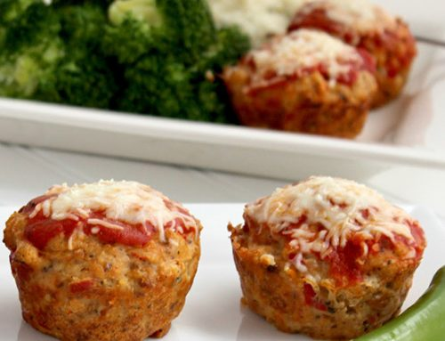 Pizza Meatloaf Cups