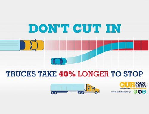 Safe Driving Around Big Trucks