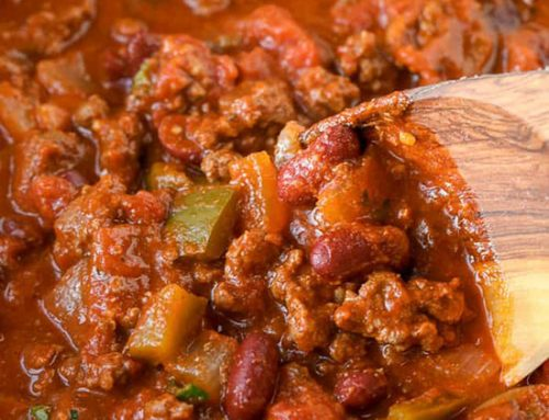Warm-up your Bones with this Chili Recipe