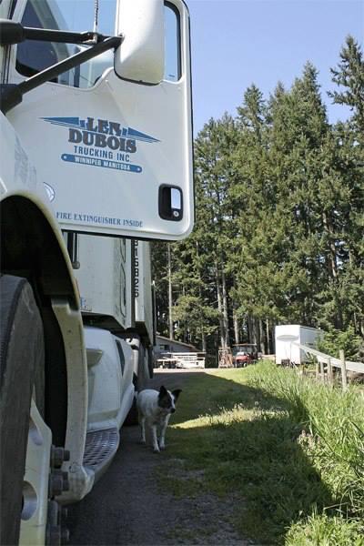 Winnipeg trucking company Len Dubois Trucking
