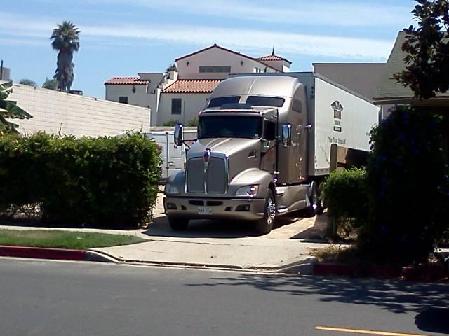 Len Dubois Trucking working hard.