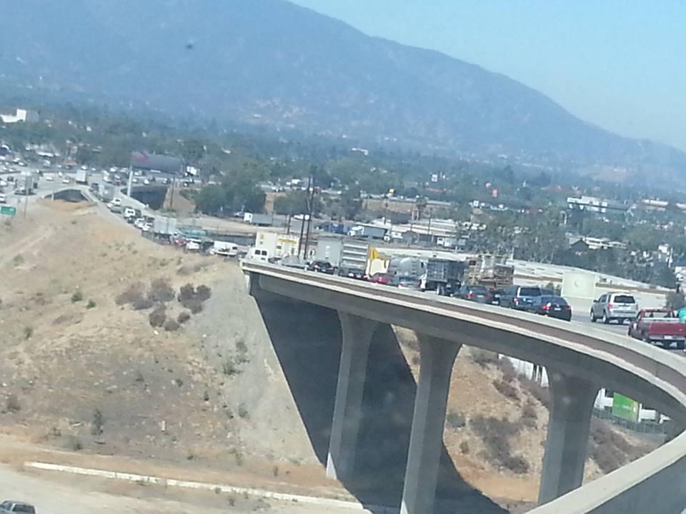 Highway 91 in California