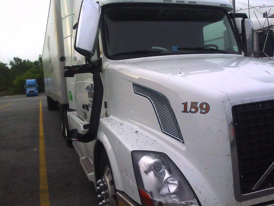 truck stop accident