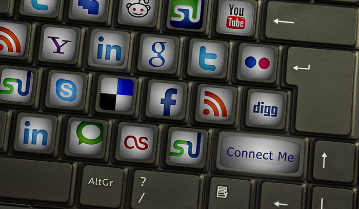 trucking social media