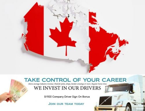 Canada Only Company Driver Lanes Available